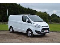 2016 16 FORD TRANSIT CUSTOM 2.2 TDCI 270 LIMITED 125 BHP L1 H1 SHORT WHEEL BASE