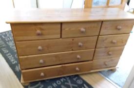 Richmond pine chest of Draws
