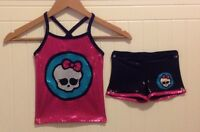 Brand New MONSTER HIGH Gymnastic Outfit SIZE 2T- 14 youth