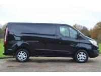 2015 15 FORD TRANSIT CUSTOM 2.2 TDCI 290 LIMITED L1 H1 SHORT WHEEL BASE 125 BHP