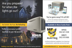 Emergency Automatic Generators - Home or Business