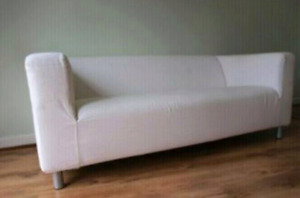 Ikea Klippan Sofa with 3 different covers