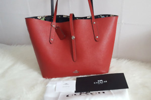 Brand new COACH Leather Market Tote Bag