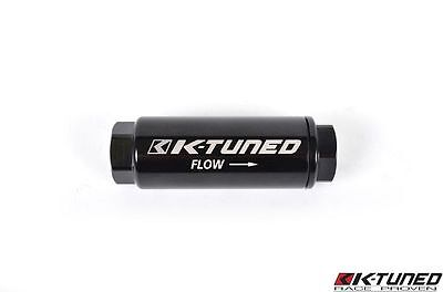 K-Tuned UNIVERSAL Inline High Flow Fuel Filter -8AN Honda Acura (100 micron)