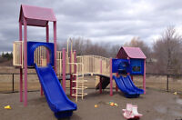 Industrial Playground equipment. Large Set excellent shape