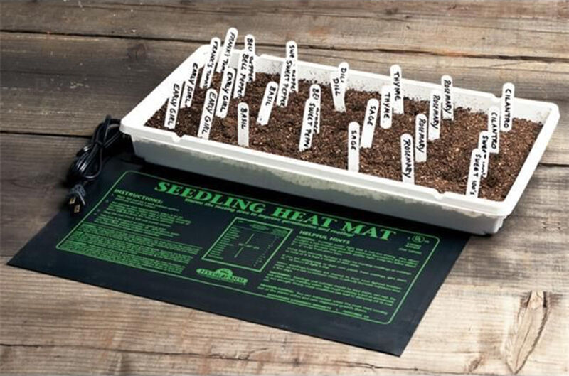 How to Use a Seedling Heat Mat