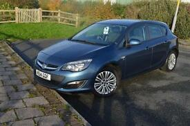2014 14 VAUXHALL ASTRA 1.6i 16V Energy 5dr in Deep Sky
