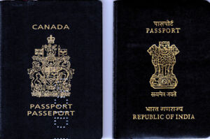Tourist Visa to India/New /Renewal of Indian Passport/OCI Forms