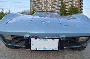 1977 Corvette with rare manual 4 speed