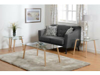 Morton Occasional Set, Includes coffee table, lamp table and nest of tables, Brand New Flat Packed