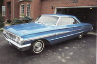 1964 Ford Galaxie XL Fastback in excellent condition