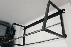 36-inch to 48-inch 375 lb. Capacity Adjustable Width Tire Rack