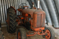 Farm Equipment  Antique Tractor