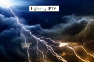 TV Box with Lightning IPTV  2500 Channel's  2 connections
