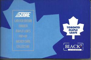 1992-93 Score Limited Edition Toronto Maple Leafs Pop-Up Hockey