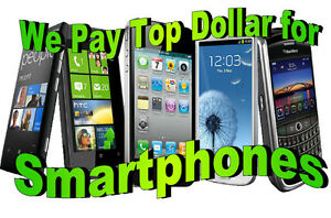 WANTED:★BUYING ALL BROKEN ,BLACKLISTED SMART PHONES ★$Cash Paid$