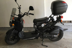 Well cared for Honda Ruckus with extras!
