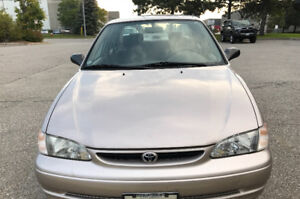 1999 Toyota Corolla *Excellent Working Condition!*