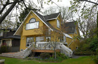 Spacious CORNER house for rent in Kerrisdale/South Granville are