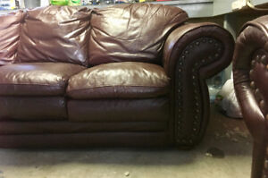 Used sofa and love seat