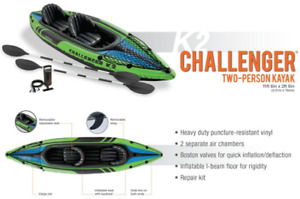 Inflatable Two-Person Kayak