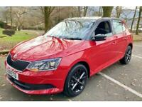 2018 Skoda Fabia COLOUR EDITION TSI JUST 16994 MILES 2KEYS SKODA WARRANTY BLUETO