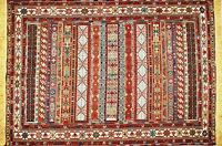 Brand New Hand Knotted Persian Area Rug Wall Hanging With Tag