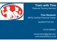 Personal training services Folkestone