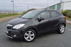 2014 14 VAUXHALL MOKKA 1.6i Exclusiv 5dr in Carbon Flas