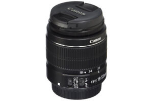 Canon EF-S 18-55mm f/3.5-5.6 IS II Lens - NEW!