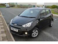 2016 66 HYUNDAI I10 1.0 SE 5dr in Phantom Black