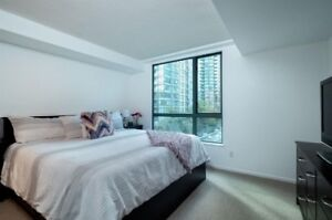 3 Bed, 2 Bath Coal Harbour Condo (semi -furnished or unfurnished