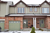 Newer Spacious Townhouse in Kanata South - April 1st