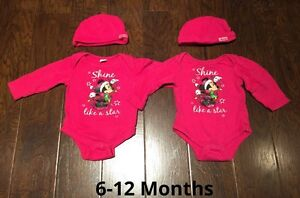 6-12 Month Minnie Onsies