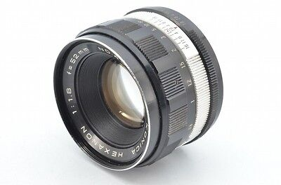 Объективы KONICA HEXANON 52mm f1.8 #134