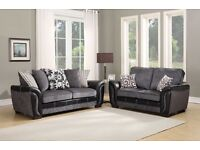 *SALE* BRAND NEW FACTORY SEALED - NEW STYLE SHANNON 3+2 SOFA 2016 £449.99