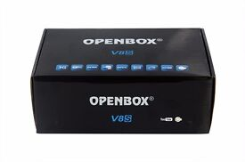 brand new in box openbox v8s
