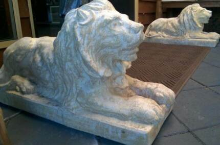 Garden Lion Statues - Pair for sale Ballajura Swan Area Preview