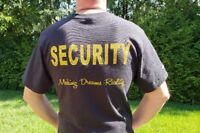 Licenced Security Officers Required
