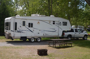 29' Thoroughbred Fifth Wheel by Palomino
