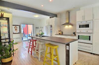Amazing Renovated Loft-Style Apartment & Private Walk-out Yard