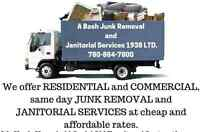 Same day Junk Removal 780-884-7800