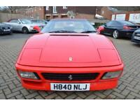 1990 H FERRARI 348 3.4 348TS 2D 320 BHP FULL AND COMPREHENSIVE SERVICE HISTORY