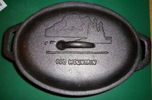 Old Mountain Cast Iron Casserrole Pot NEW