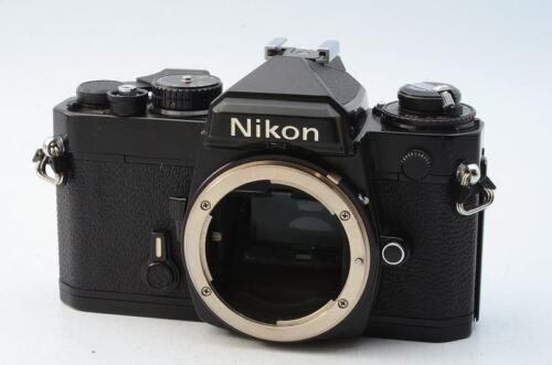 Excellent+ Nikon FE Black 35mm SLR Film Camera From Japan 128281