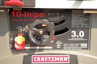 "10"" Craftsman Table Saw."