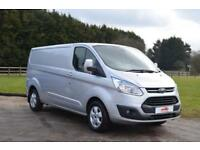 2015 15 FORD TRANSIT CUSTOM 2.2 TDCI 290 LIMITED L2 H1 LONG WHEEL BASE PANEL VAN