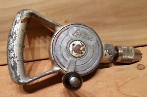 Vintage Leytool Hand Drill - Made in England