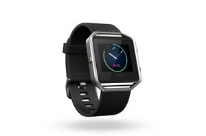 Brand New Fitbit Blaze Fitness Tracker- Black/Silver-=$160