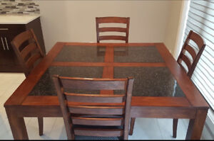 Stylish Kitchen/Dining Room Table & 8 chairs for sale!!!
